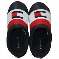 Tommy Hilfiger Padded Flag Logo Men's Slippers, Navy
