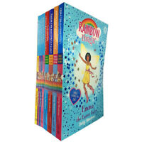 Rainbow Magic 3 stories in 1 and School Days Fairies Series 8 Books Pack Set NEW