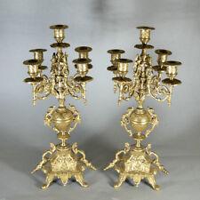Éclairage et lampes du XIXe siècle XIXème et avant en bronze