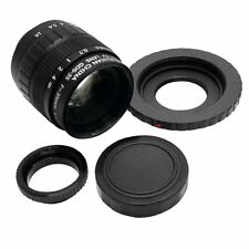 35mm F1.7 C Mount CCTV Lens Sony Adapt Cam NEX-3 NEX-C3 NEX-5 NEX-5N NEX-6 NEX-7