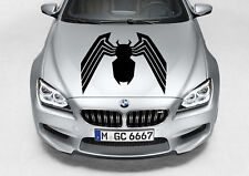 VENOM LOGO SPIDERMAN CAR DECAL GRAPHIC VINYL HOOD SIDE