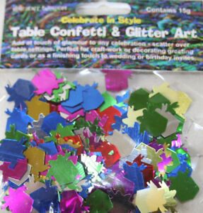Table Confetti & Glitter Art - 15g - Presents Shape
