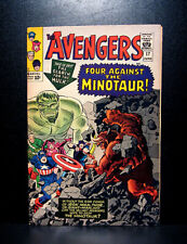 COMICS: Marvel: Avengers #17 (1965), 1st Minotaur app - RARE