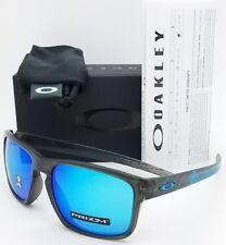 a07a5fd603f NEW Oakley Sliver sunglasses Aero Grey Sapphire 9269-1857 Asian Fit  AUTHENTIC