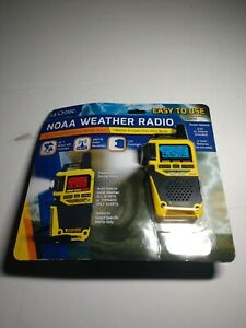 La Crosse NOAA Weather Radio AM/FM Tornado Only Alert W/AC Adaptor NIB