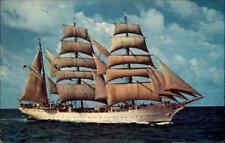 "Schiffe u. Seefahrt U.S. Coast Guard Cadet Training Bark Segelschiff ""EAGLE"""