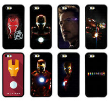 Iron Man Avengers Superhero Rubber Phone Case Cover  For iPhone / Samsung