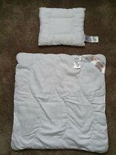 Baby-Steppbettdecken-Set Satine 2-tlg. 35x40 / 80x80 cm waschbar Baumwolle
