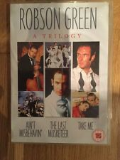 Robson Green A Trilogy Ain't Misbehavin' The Last Musketeer Take Me DVD