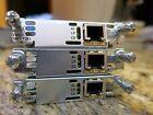 Cisco VWIC2-1MFT-T1/E1 1-port Voice/WAN Interface Card PBX DSU CSU G.703