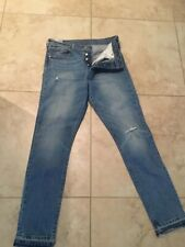 Levi's 501 S Skinny jeans button up fly W29 L30