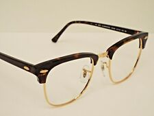 Authentic Ray-Ban RB 3016 W0366 Tortoise Gold Clubmaster Sunglasses Frame $200