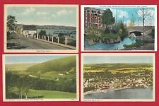 CANADA Quebec Ottawa N.S. Ontario Lot of 5 Vintage Postcards Circa 1930-1950's