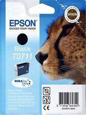 Epson Negro t0711 to711 sx115 sx215 sx515w SX600FW Orig
