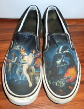 STAR WARS VANS CLASSIC SLIP ON SKATE STYLE SHOES SIZE MENS 9.5 WOMENS 11