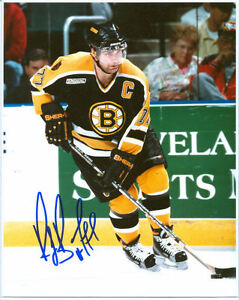 Signed Ray Bourque Boston Bruins Photo HOF 1