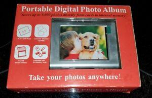 Portable Digital Photo Album NIB