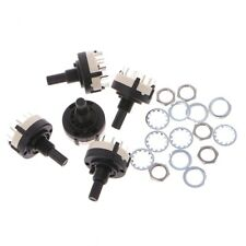 4p3t 4 Pole 3 Position 6mm Shaft Diameter Band Selector Rotary Switch