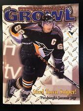 Florida Panthers Program 2/29/2000 vs Penguins Jaromir Jagr Cover BX1