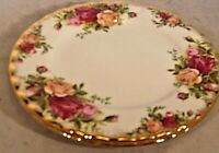 """ROYAL ALBERT OLD COUNTRY ROSES 1962 6 1/4"""" Bread & Butter Plates(2)"""