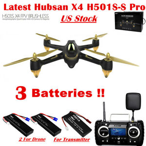 Hubsan H501S S Pro Drone 5.8G FPV Brushless 1080P H501SS Quadcopter GPS RTH RTF