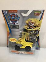 Paw Patrol Dino Rescue Rubble Super Rare Die-Cast Vehicle