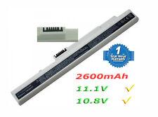 2600mAh Batería para Acer Aspire One ZG5 A110 A150 AOA150 White AKKU Battery
