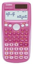 Casio Scientific Calculator - Battery - Solar Energy Driven - Pink - Maths