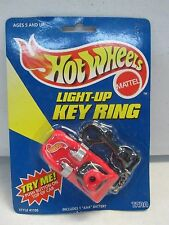 1998 Hot Wheels Light Up Key Ring (red)