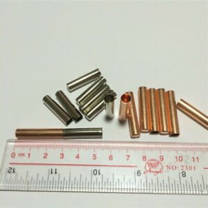 10pcs Red Copper Sleeve Husk Capsules Tube Husk for PT100 DS18B20 PT1000 Sensor