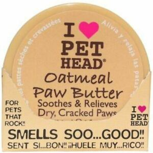 Pet Head Oatmeal Paw Butter Natural Ingredients Easy to Use - 59.1 ml