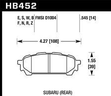 fits 2003-2008 Subaru Forester Impreza  HAWK PERFORMANCE