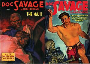 DOC SAVAGE #8-9 • 2 Magazine Reprints • 2007 • K. Robeson • Nostalgia Ventures