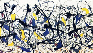 Jackson Pollock Summertime 1948 LIMITED EDITION High Quality Giclee Print 17x23