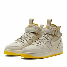 Nike Air Force 1 Mid Canvas Desert Sand Vivid Sulfur | Size 13 - High Authentic