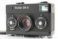 [Exc+5 / ALL WORKS! ] Rollei 35 S Sonnar 40mm F/2.8 BLACK Rangefinder from JAPAN