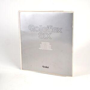+Genuine Rolleiflex SLX System Catalog