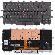 Lenovo Thinkpad X1 Carbone Gen 4 Clavier UK Rétro-éclairé NSK-Z82BW 00PA727 F265