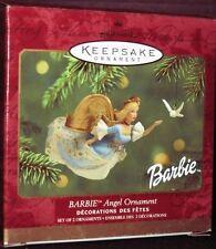 Barbie Peace Angel with Dove Hallmark Keepsake Ornament 2001 QXI6925