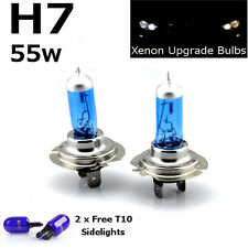 H7 55w SUPER WHITE XENON (499) Head Light Bulbs HID 12v + T10 W5W 501 Sidelights
