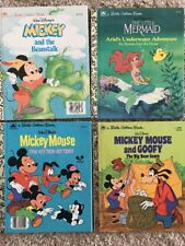 Lot Of Four Disney Golden Books