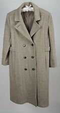 Vintage Women Noble Fashions Made in USA Union Made Brown Tweed Chest 38