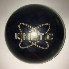 """USED 14# Track Kinetic Obsidian Reactive Resin Bowling Ball - 4 1/4"""" Span"""