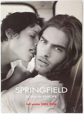 Jon Kortajarena Springfield fall winter 2005 2006 lookbook fashion RARE catalog