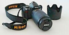 Nikon D60 10.2MP Digital SLR Camera w/Nikkor Lens AF-S VR Zoom 70-300mm with Bag