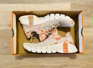 Nike Free Metcon 4 Desert Sand Copper White Pink DJ3075-064 Women's 9, Men's 7.5