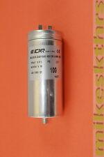 Anlaufkondensator Motorkondensator 100uF 400V 100µ ABS Betriebskondensator ICAR