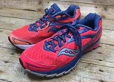 Women Saucony Ride 8 Running Shoes Size US 9 EU 40.5 UK 7 Pink S10273-2