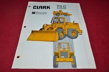 Michigan 75C Wheel Loader Dealer's Brochure YABE15