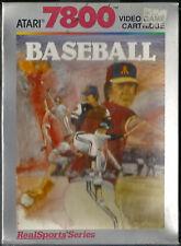 Realsports Baseball Atari 7800 New Factory Sealed Rare Collectible NIB